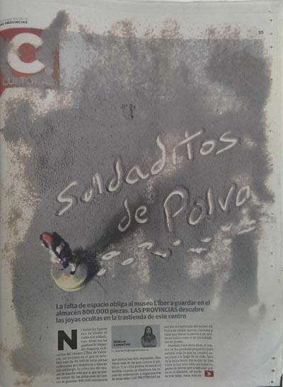 Las Provincias Soldaditos de Polvo 2014