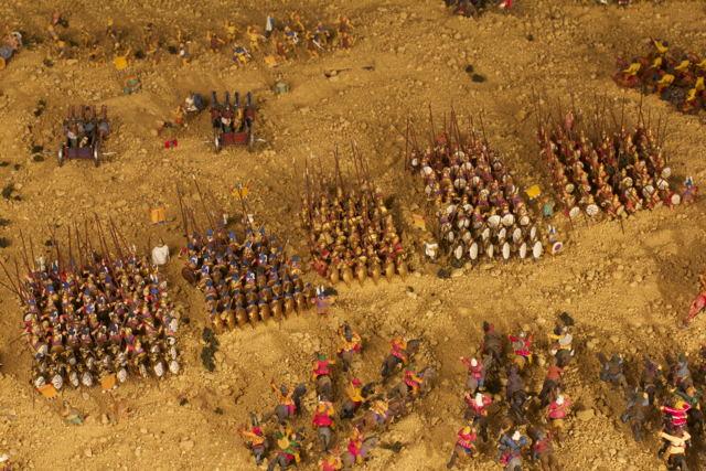 Batalla-Gaugamela-falange-2