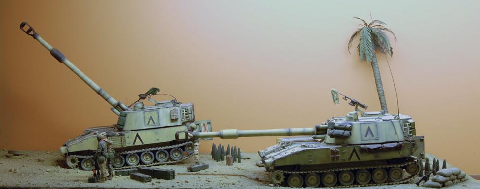 Guerra-de-Irak-M109