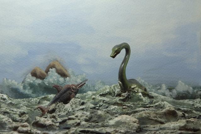 Plesiosaurio-e-ictiosaurio