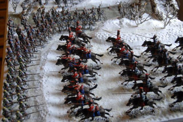 Retirada-Rusia-carga-cosacos