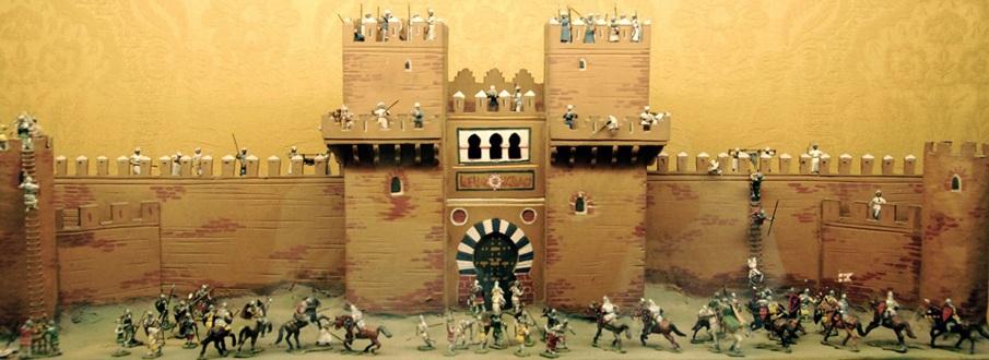 Cruzados-atacando-un-castillo-medieval