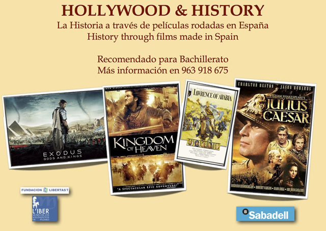 Cartel Hollywood & History Sabadell WEB