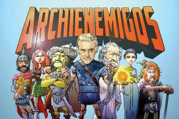 Portada Archienemigos de Roma2