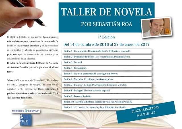 Cartel-Taller-Novela-Roa-WEB