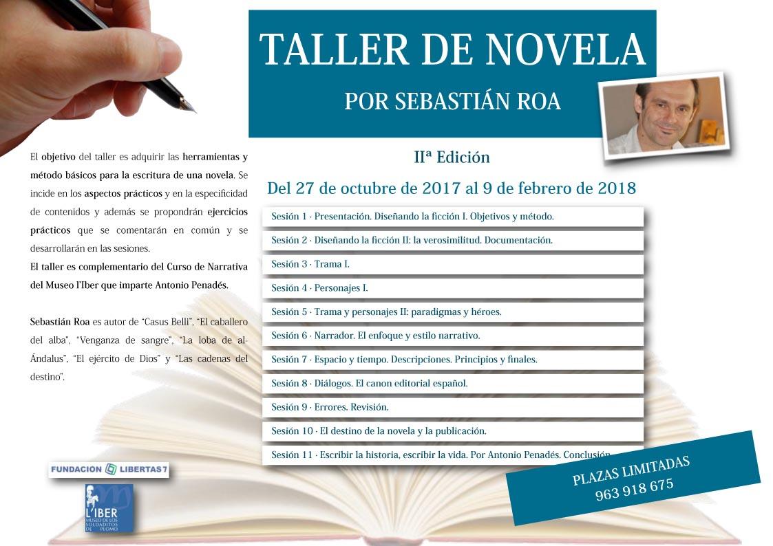 Taller de novela Museo L'Iber 2017 por Sebastián Roa