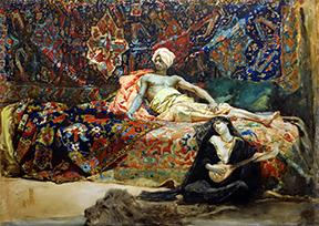 hassan-namouna henri regnault Museo L'Iber Valencia orientalismo