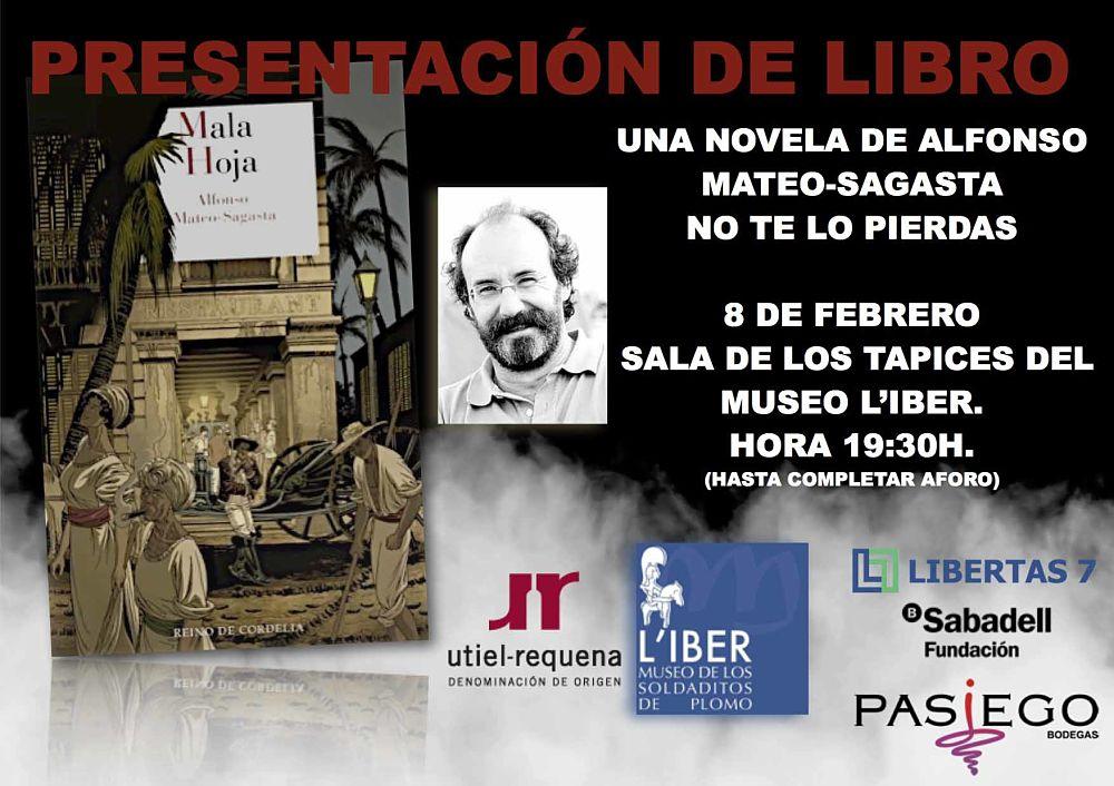 Presentación Mala Hoja de Alfonso Mateo-Sagasta Museos Valencia