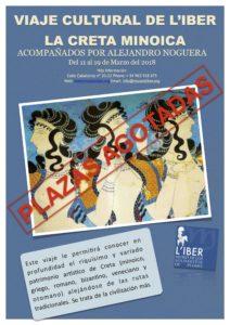 Mujeres de azul minoicas museos Valencia viajes de autor