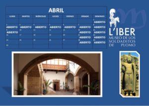 Mes de abril museo Liber
