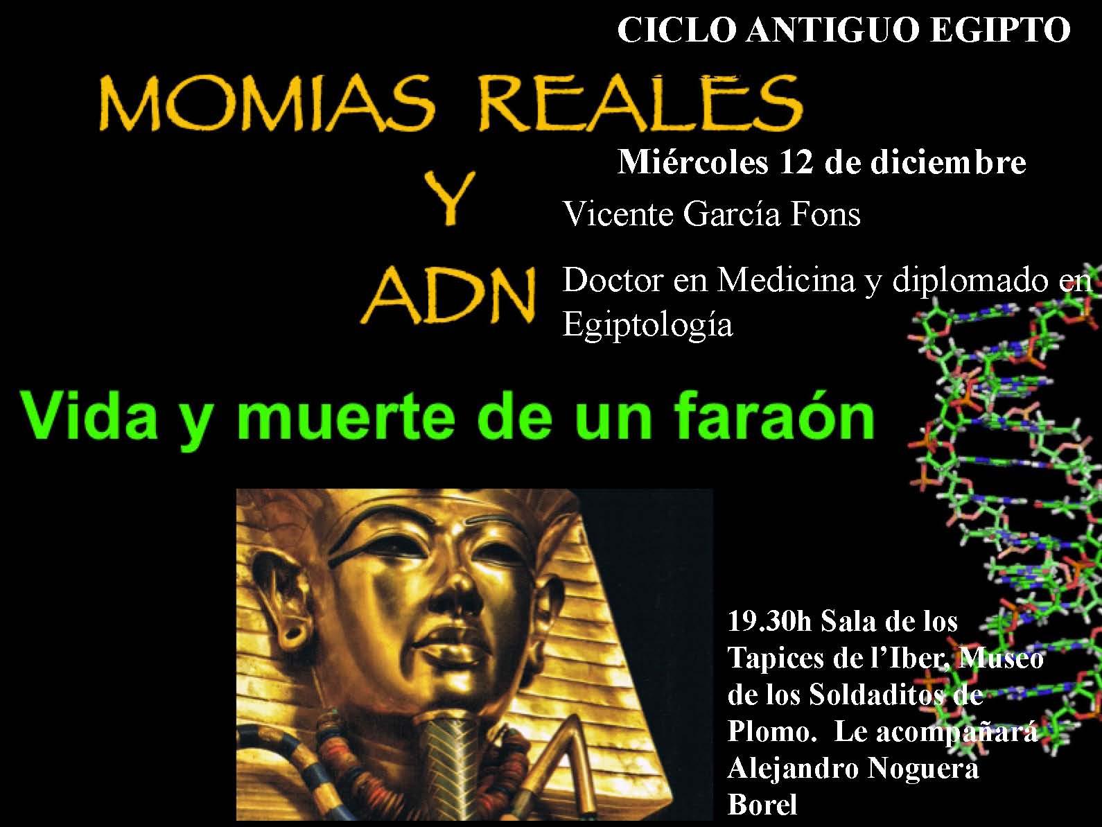 II Conferencia sobre el antiguo Egipto Momias reales y ADN
