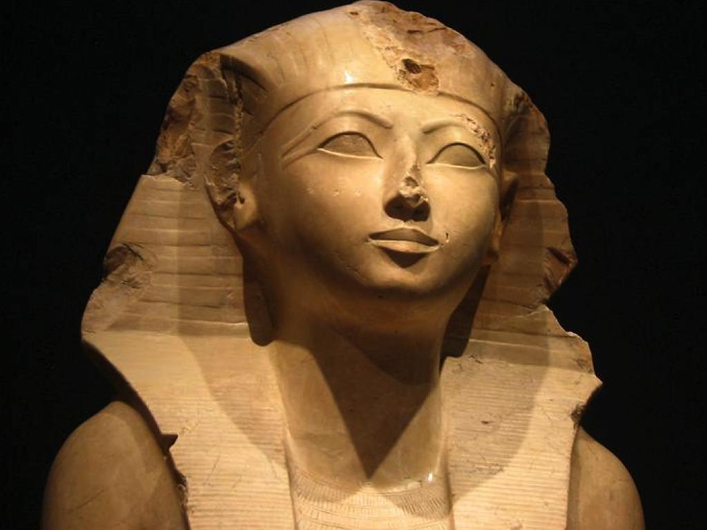 III Conferencia Egipto reina egipcia