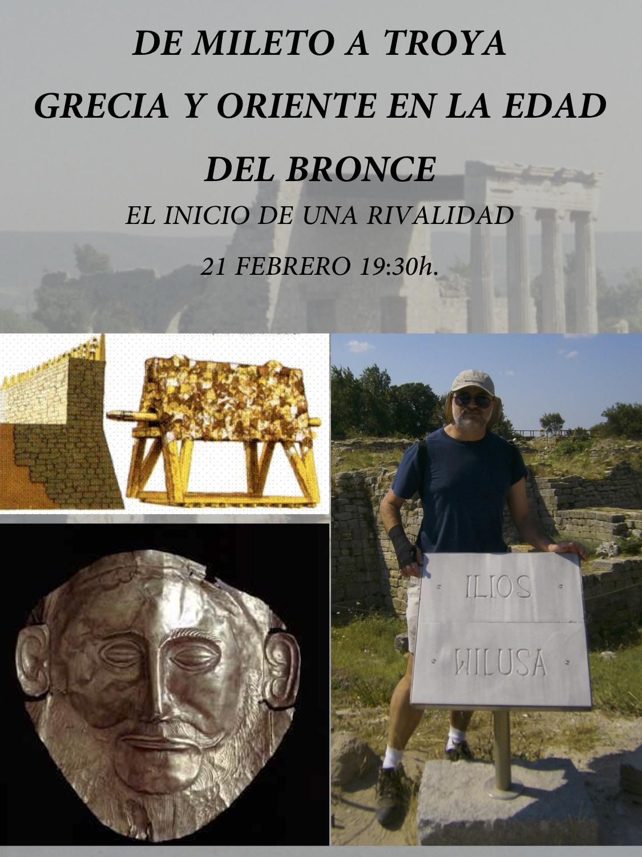 Primera conferencia del ciclo La antigua Grecia en Liber