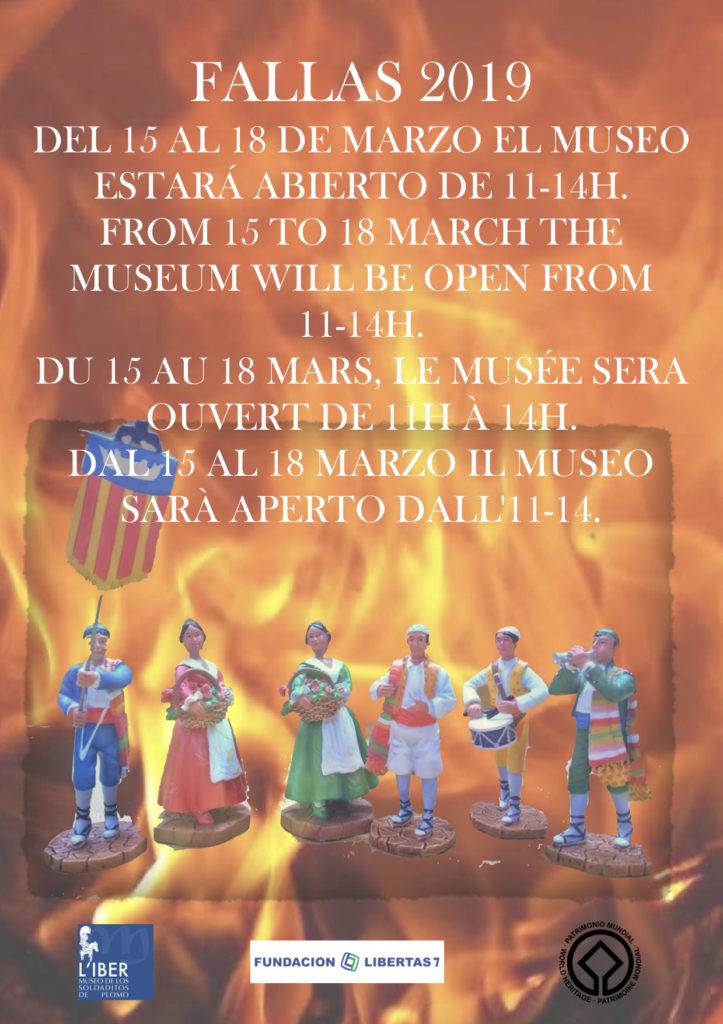 Horario de fallas de L'Iber, Museo de los soldaditos de plomo
