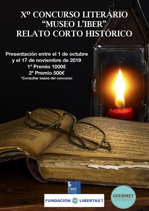 """Xº Concurso Literario """"Museo L'Iber""""de relato corto histórico"""
