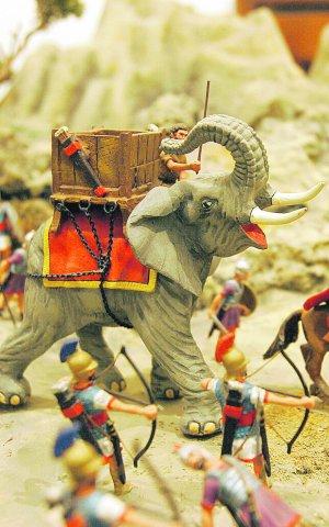 Elefante de Anibal, Alymer
