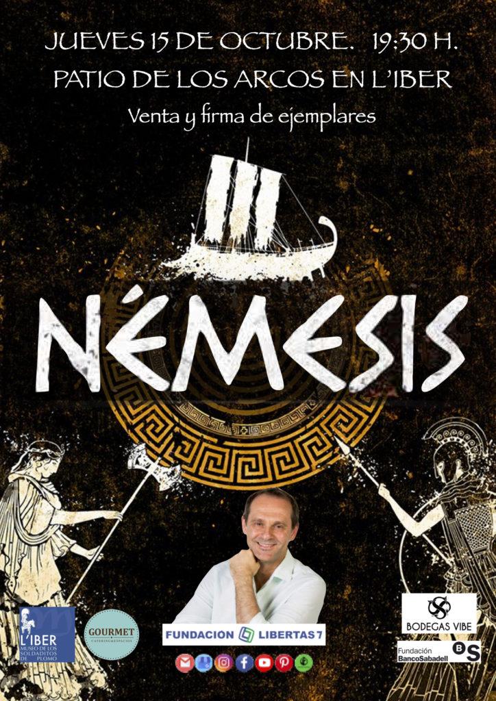 """Presentación de libro """"Némeis"""" de Sebastián Roa."""