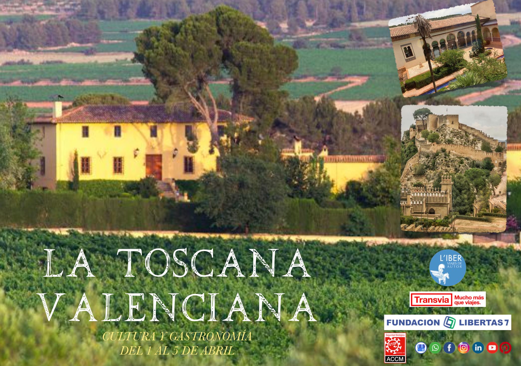 viaje a la Toscana valenciana de Liber