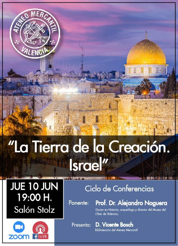 La tierra de la creación. Israel