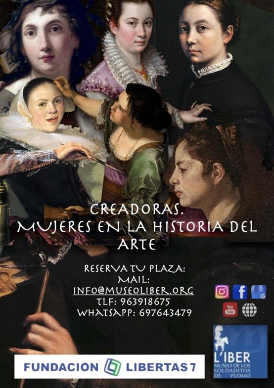 Creadoras Mujeres en la historia del Arte por Marina Márquez