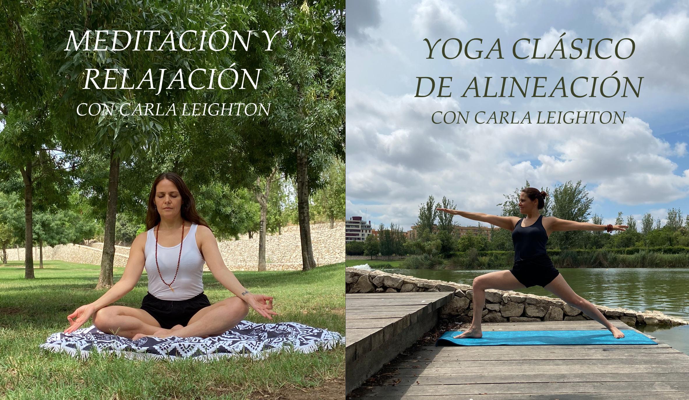 yoga y meditación en L'Iber