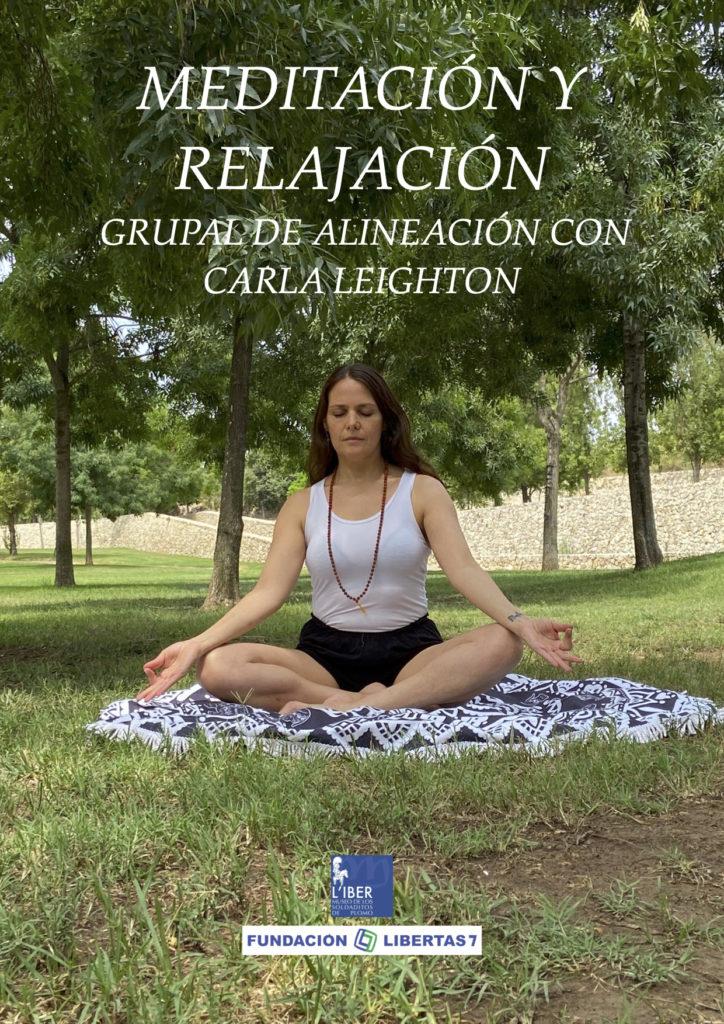 Yoga Clásico de Alineación y Meditación y relajación grupal por Carla Leighton