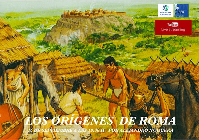 Conferencia: «Los orígenes de Roma»