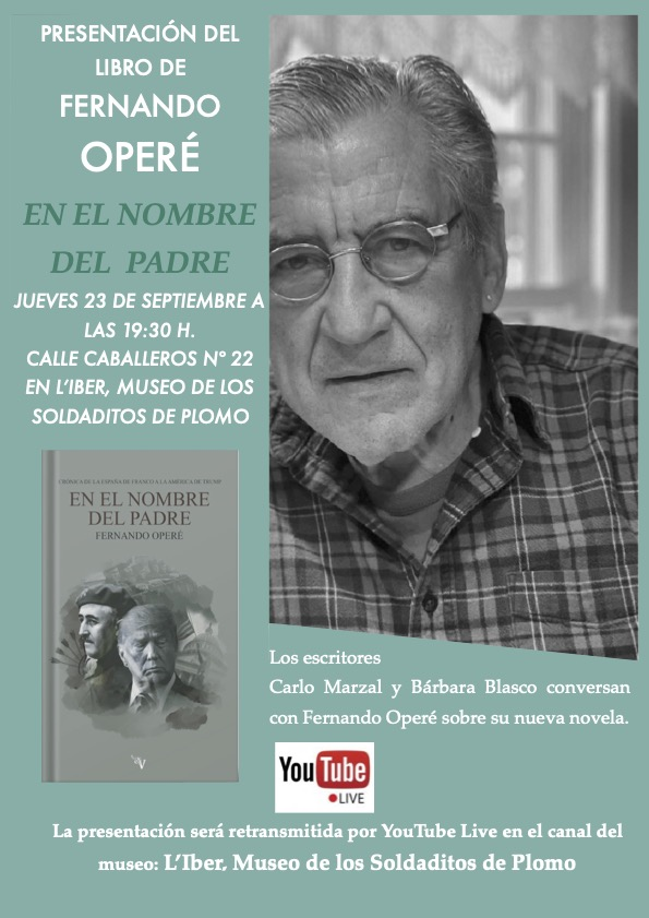 Presentación de libro En el nombre del padre de Fernando Operé